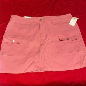 NWT Calvin Klein pink skirt